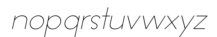 Offerings Italic Font LOWERCASE