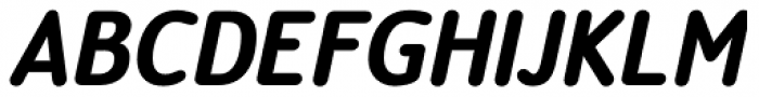 Official Black Italic Font UPPERCASE