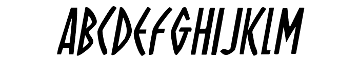 Oh Mighty Isis Italic Font UPPERCASE