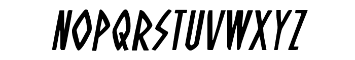 Oh Mighty Isis Italic Font LOWERCASE