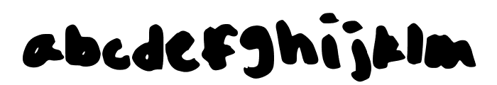 Oh_Snap Font LOWERCASE