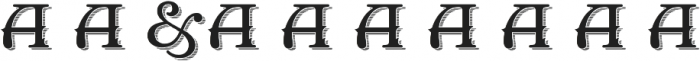 OldOpera-shadow otf (400) Font OTHER CHARS
