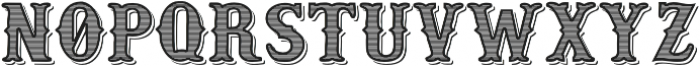 old_style otf (400) Font LOWERCASE