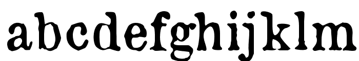 OldNewspaperTypes Font LOWERCASE