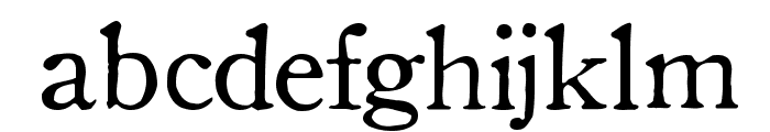 OldStyle 1 HPLHS Font LOWERCASE