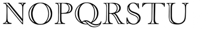 Old Face Open Font UPPERCASE