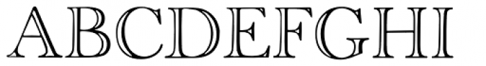 Old Face Open Font LOWERCASE