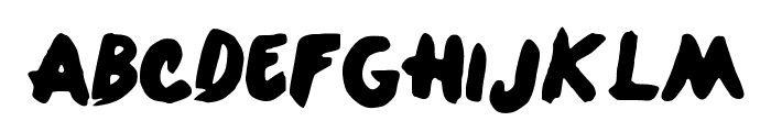 OneDirection Font LOWERCASE