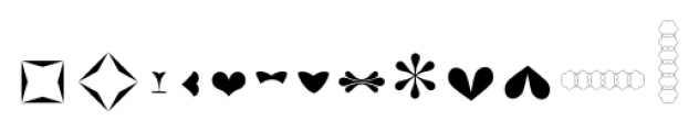 Only You Sexy Icons  Happy Font UPPERCASE