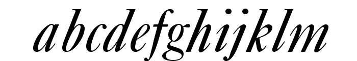 OPTICaslonFive-Italic Font LOWERCASE