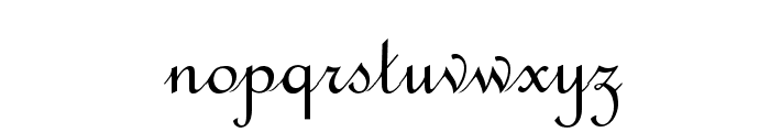 OPTIFrench-Script Font LOWERCASE