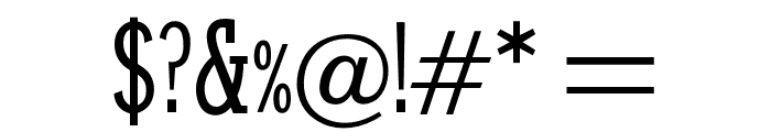 OPTIStymie-MediumCond Font OTHER CHARS