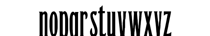 Orient Express Font LOWERCASE