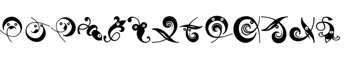 OrnamHeads Font UPPERCASE