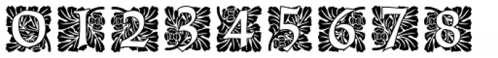 Ornate Initials Style Three Font OTHER CHARS