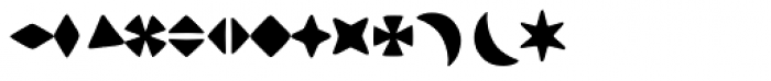 Othello Ornaments MT Font LOWERCASE