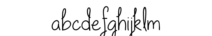 Our lil secret forever Font LOWERCASE
