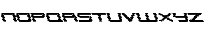 Outer Limits Extended Italic Font LOWERCASE