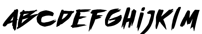 outrun future Font LOWERCASE