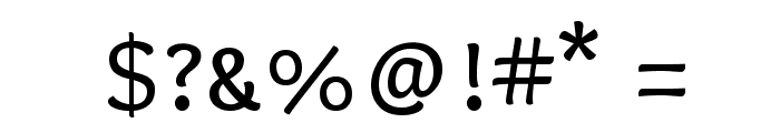 Overlock SC Font OTHER CHARS