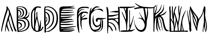 Overthink Demo Font LOWERCASE