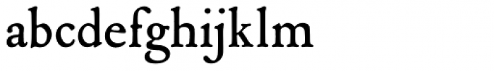P22 Mayflower Smooth Font LOWERCASE