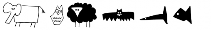 P22 ToyBox Animals Font OTHER CHARS