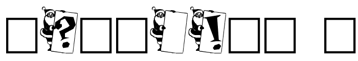 Papa Noel Font OTHER CHARS