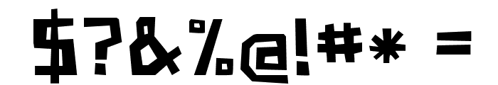 PaperJohnnyZwei-Regular Font OTHER CHARS
