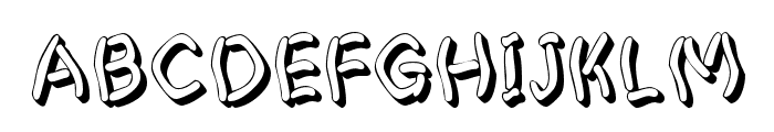 Pastern Font UPPERCASE