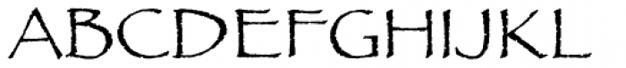 Papyrus Font UPPERCASE