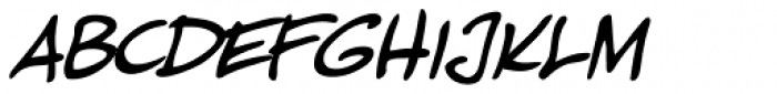 Pascual Ferry Italic Font LOWERCASE