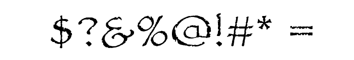Papyrus Font OTHER CHARS