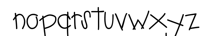 PC Overalls Font LOWERCASE