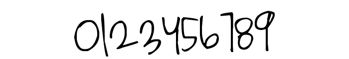 Pea Heather's Handwriting Font OTHER CHARS