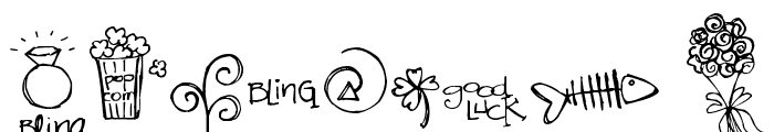 Pea Stacy's New Doodles Font OTHER CHARS