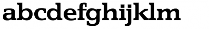 Penthouse Serial Bold Font LOWERCASE