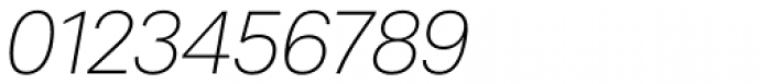 Peter Ultralight Italic Font OTHER CHARS
