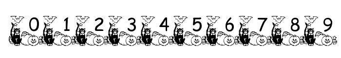pf_holloween2 Font OTHER CHARS