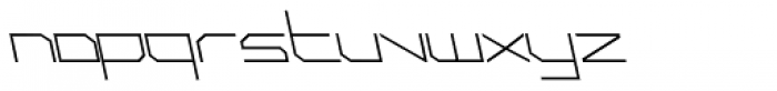 Phuture Sqrd Clsd A Italic Font LOWERCASE