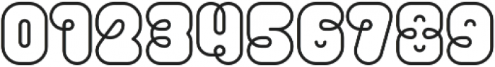 Pio Rounded Regular ttf (400) Font OTHER CHARS