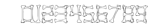 Pirate Regular Font OTHER CHARS
