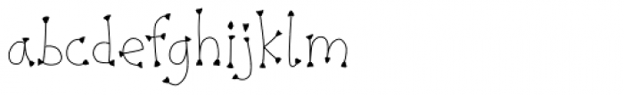 Pigeonpie Claw Font LOWERCASE