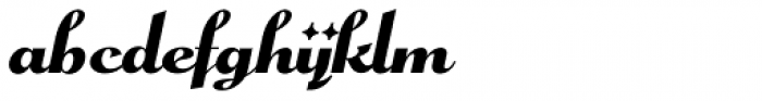 Pismo Clambake NF Font LOWERCASE