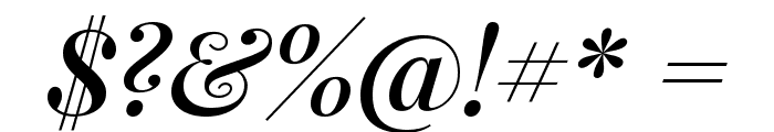 Playfair Display SemiBold Italic Font OTHER CHARS