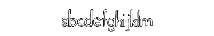 Playgrounds Font UPPERCASE