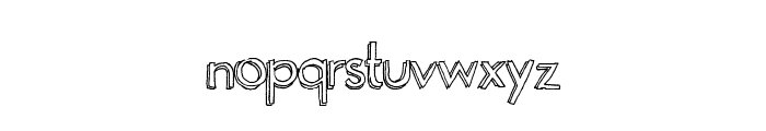 Playgrounds Font LOWERCASE