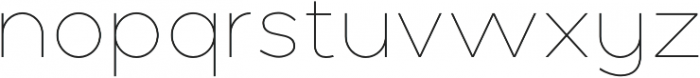 Polly Thin otf (100) Font LOWERCASE