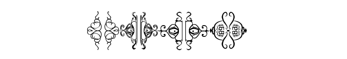 POMEROLE Font OTHER CHARS