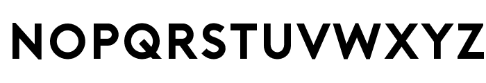 Porter Bold DEMO Font LOWERCASE